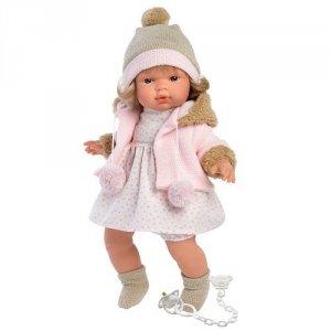 Hiszpańska lalka dziewczynka Susa – płacze 38cm  #T1