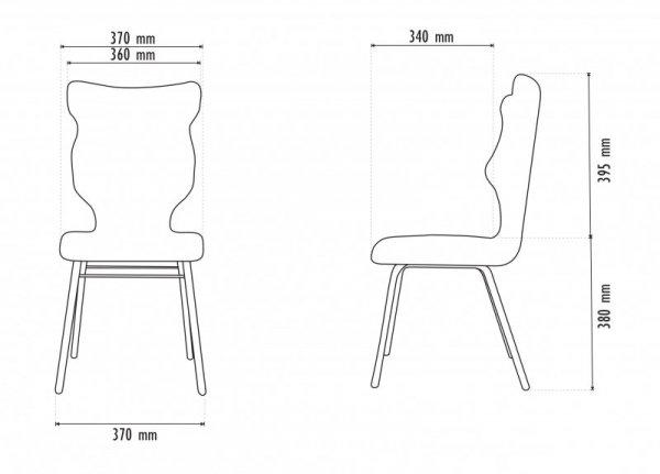 Krzesło SOLO Storia 31 rozmiar 4 wzrost 133-159 #R1