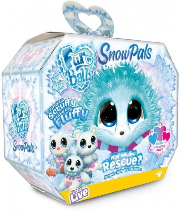FUR BALLS SNOW PALS TAJEMNICZE ZWIERZĄTKO LIMITOWANA reklama