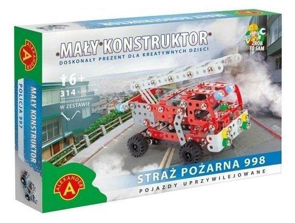 MAŁY KONSTRUKTOR - STRAŻ POŻARNA 998 - ALEXANDER