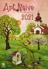 Kalendarz ścienny wieloplanszowy Art Naive 2021 - exclusive edition - okładka