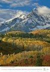 Kalendarz ścienny wieloplanszowy Mountains 2021 - sierpień 2021