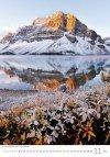 Kalendarz ścienny wieloplanszowy Mountains 2021 - listopad 2021