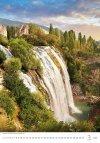 Kalendarz ścienny wieloplanszowy Waterfalls 2021 - marzec 2021