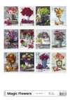 Kalendarz ścienny wieloplanszowy Magic Flowers 2021 - tylna okładka