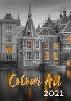 Kalendarz ścienny wieloplanszowy Colour Art 2021 - okładka