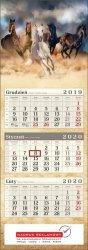 Nadruk reklamowy na kalendarzu trójdzielnym