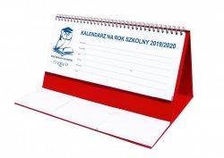 Kalendarz biurkowy EXCLUSIVE na rok szkolny 2019/2020 czerwony
