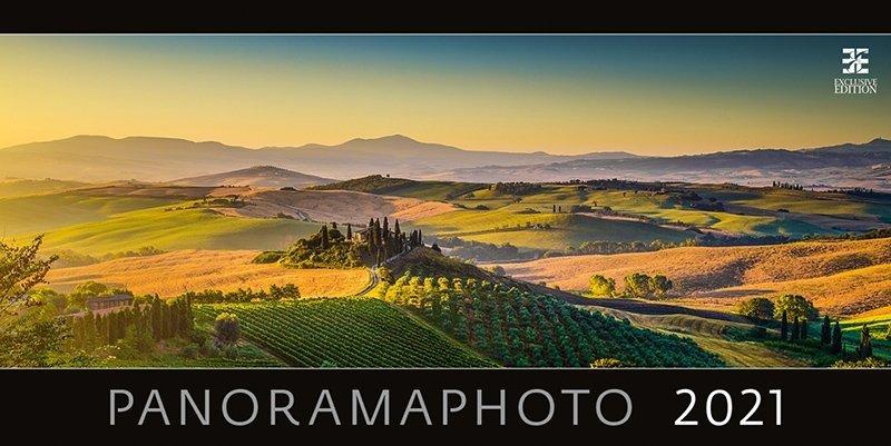 Kalendarz ścienny wieloplanszowy Panoramaphoto 2021 - exclusive edition - okładka