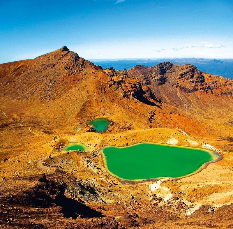 Kalendarz ścienny wieloplanszowy National Parks 2022 z naklejkami - czerwiec 2022