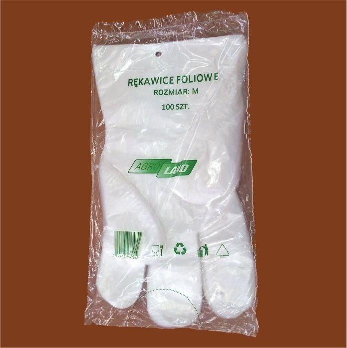 Rękawiczki jednorazowe HDPE polskiej produkcji
