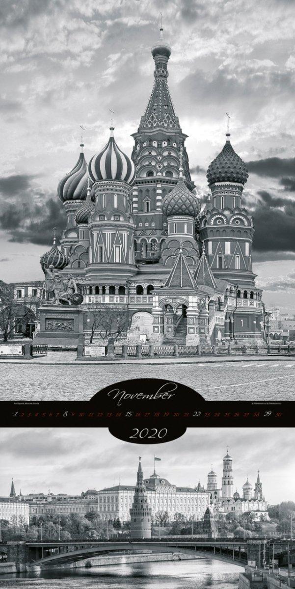 Kalendarz ścienny wieloplanszowy All About Cities 2020 - exclusive edition - listopad 2020