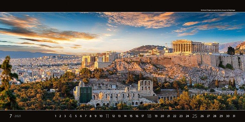 Kalendarz ścienny wieloplanszowy Panoramaphoto 2021 - exclusive edition - lipiec 2021