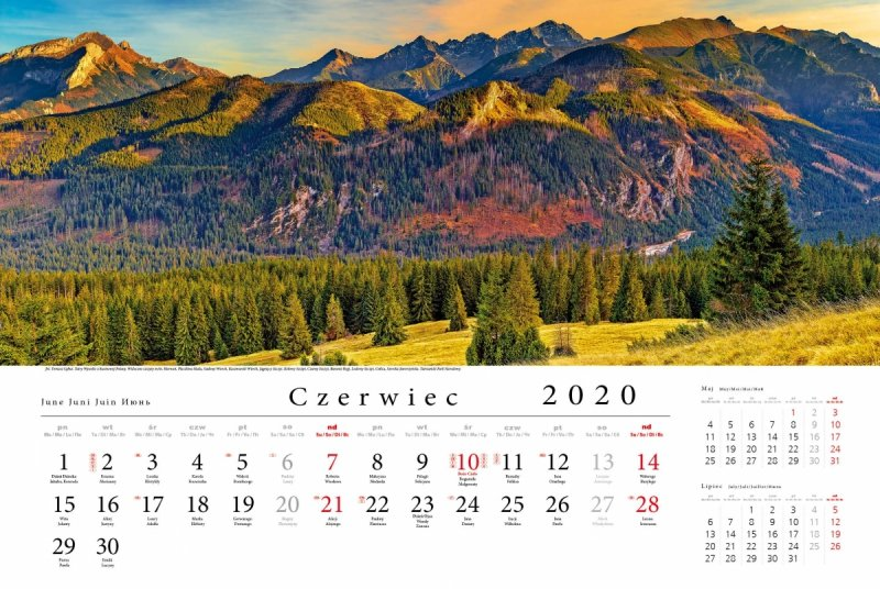 Tatry w panoramie 2020 - czerwiec 2020