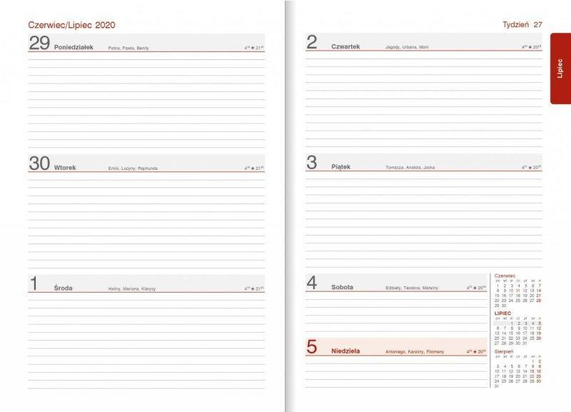 Kalendarz nauczyciela - układ tygodniowy 15.07.2019-25.08.2019 oraz 29.06.2020-2.09.2020