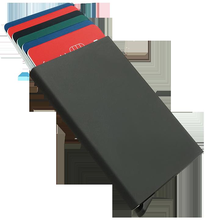 Etui na karty kredytowe czarne