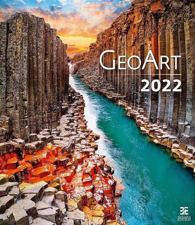 Kalendarz ścienny wieloplanszowy Geo Art 2022 - exclusive edition - okładka