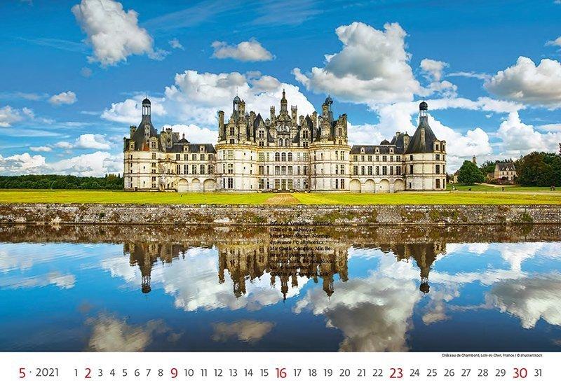 Kalendarz ścienny wieloplanszowy World Heritage 2021 - maj 2021