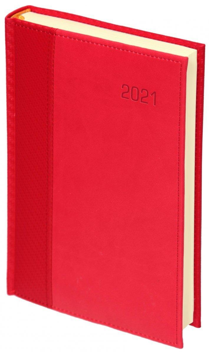 Oprawa kalendarza książkowego 2021 w oprawie przeszywanej CARBON