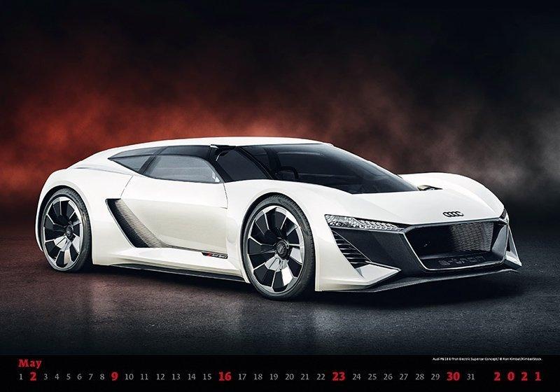 Kalendarz ścienny wieloplanszowy Cars 2021 - maj 2021