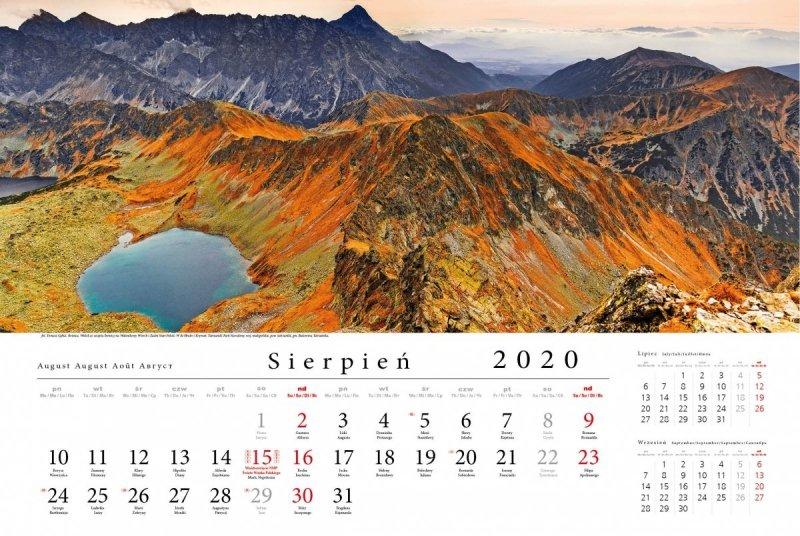 Tatry w panoramie 2020 - sierpień 2020