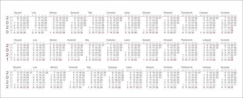 Zbiorcze kalendarium