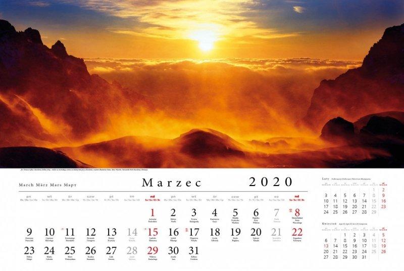 Tatry w panoramie 2020 - marzec 2020