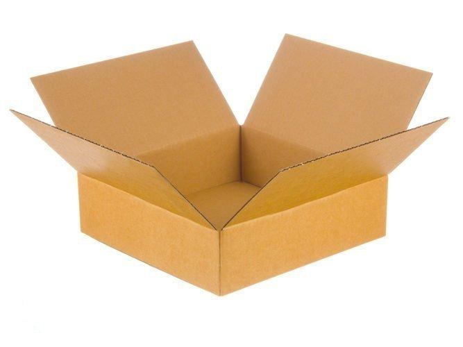Karton klapowy o wym. 350 x 350 x 80 mm  3-warstwowy fala B 380g 50 SZTUK