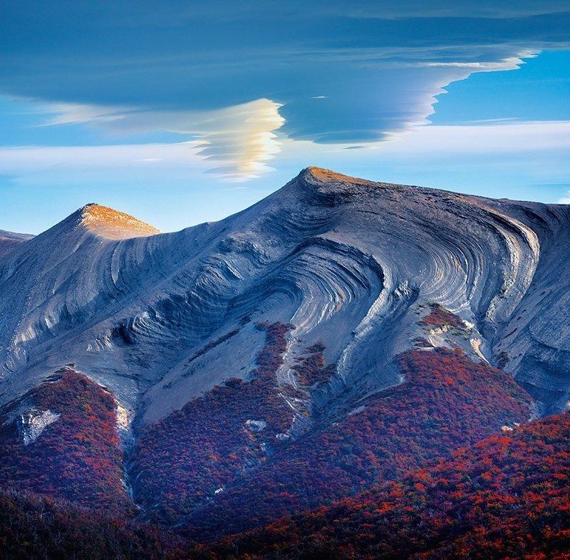 Kalendarz ścienny wieloplanszowy National Parks 2022 z naklejkami - październik 2022