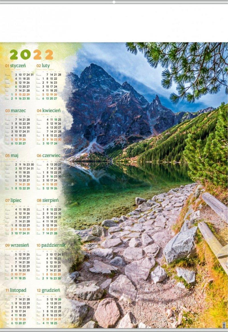 Kalendarz plakatowy B1/02 POD MNICHEM 2022
