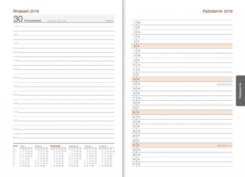 Kalendarz nauczyciela - plan miesiąca przed każdym miesiącem