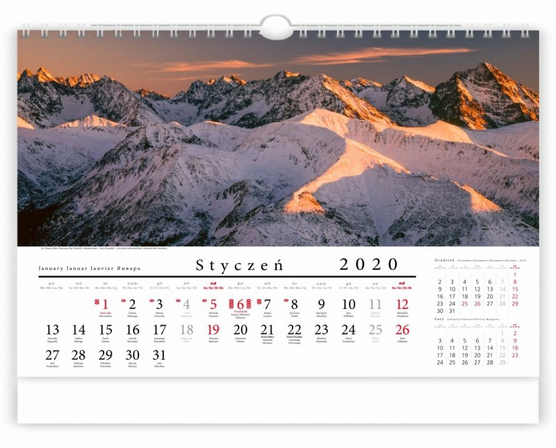 Tatry w panoramie 2020 - strona