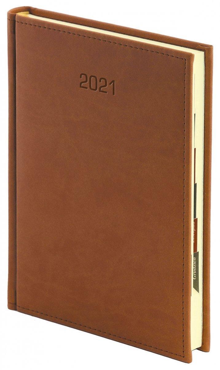 Kalendarz książkowy w oprawie VIVELLA EXCLUSIVE z obszyciem