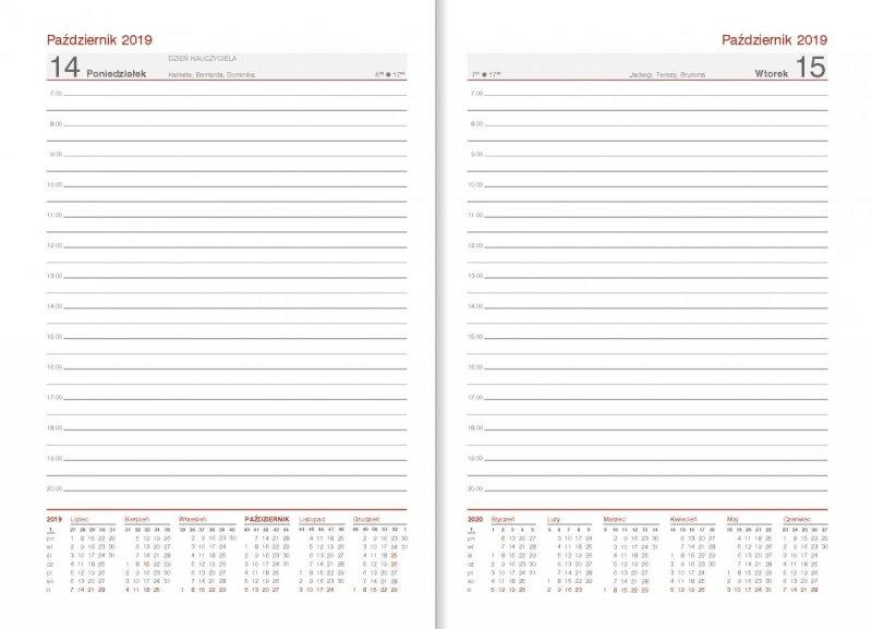 Kalendarz nauczyciela 2019/2020 układ dzienny