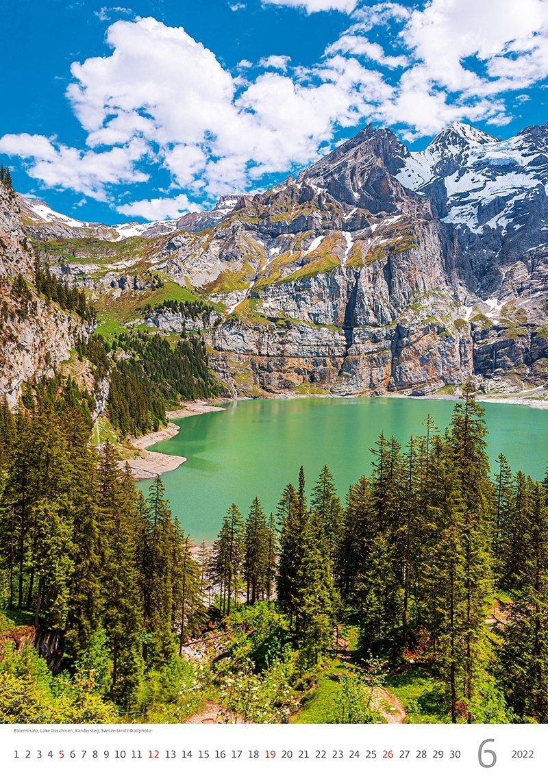 Kalendarz ścienny wieloplanszowy Alps 2022 - czerwiec 2022