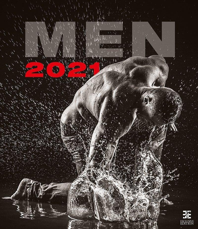 Kalendarz ścienny wieloplanszowy Men 2021 - exclusive edition - okkładka