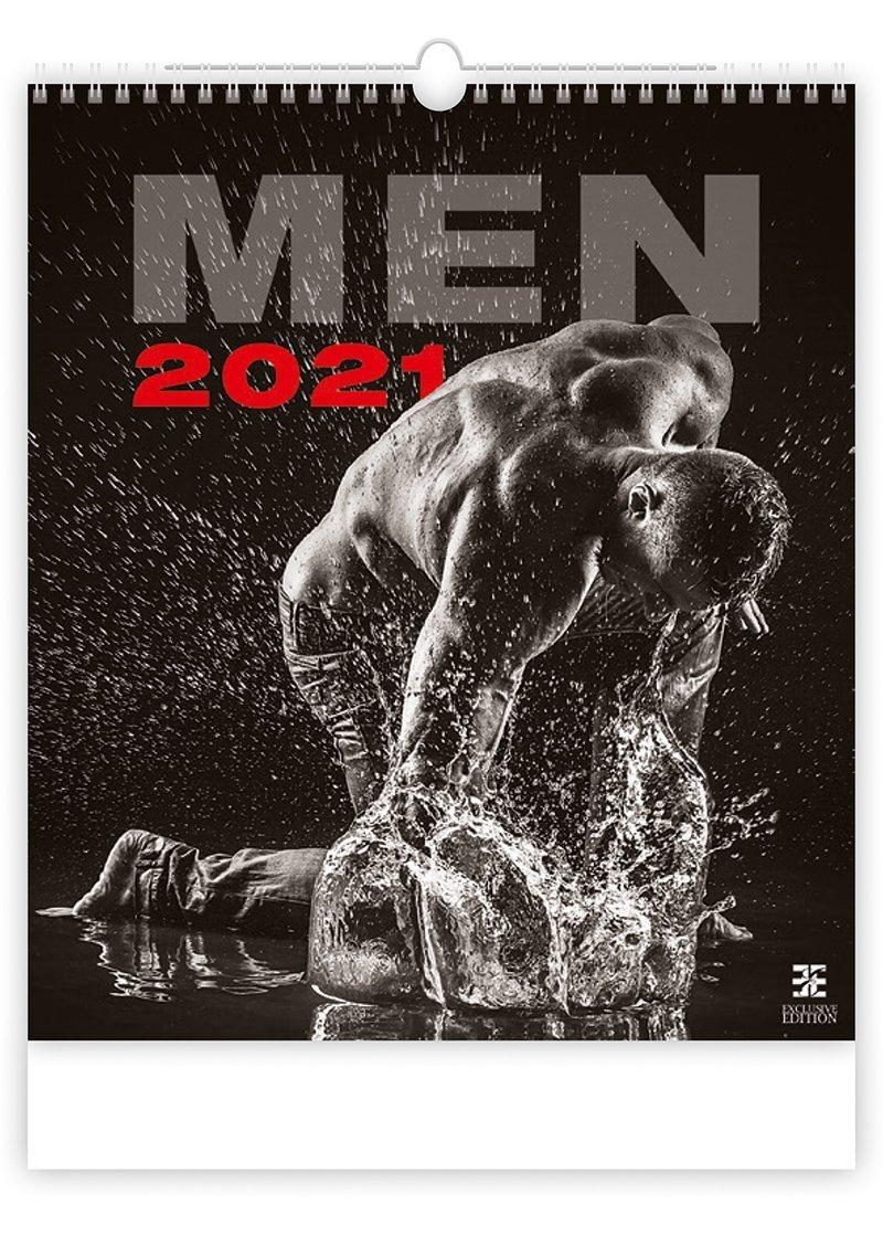 Kalendarz ścienny wieloplanszowy Men 2021 - exclusive edition - okładka