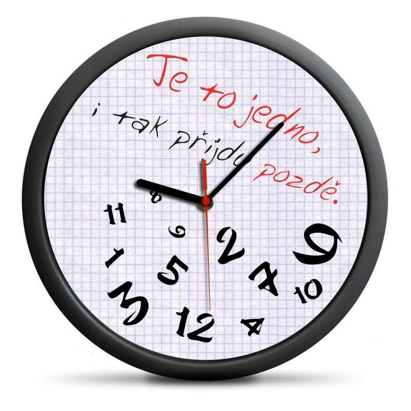 Zegar dla spóźnialskich (CZ) - cichy mechanizm