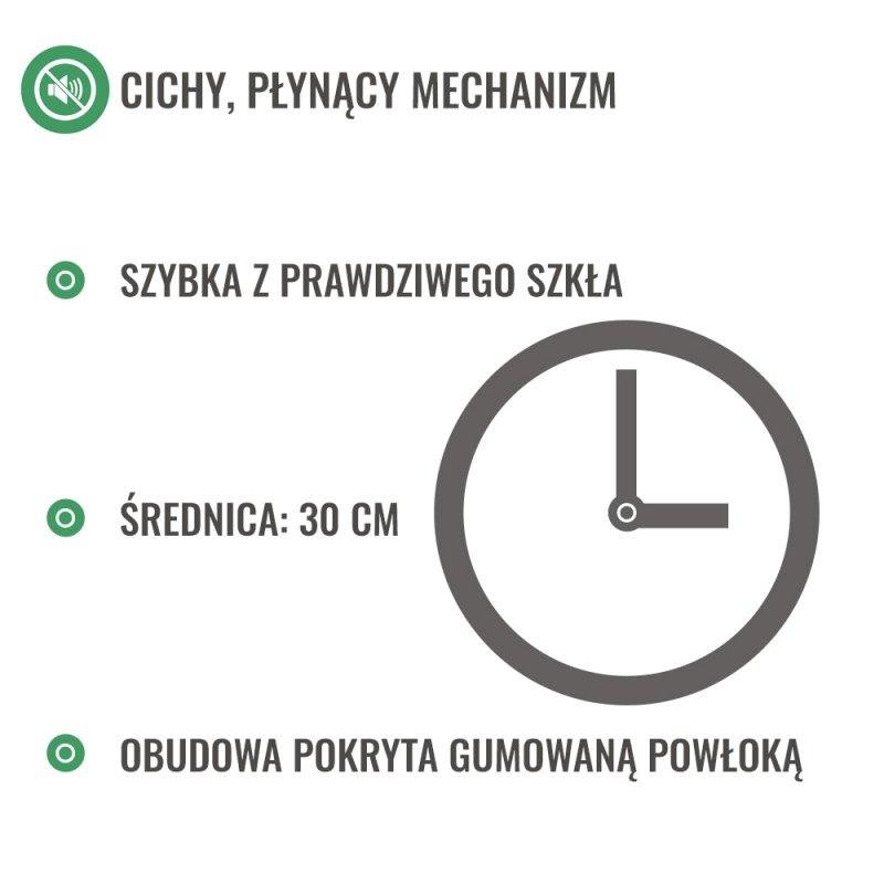 Zegar Game Over - cichy mechanizm