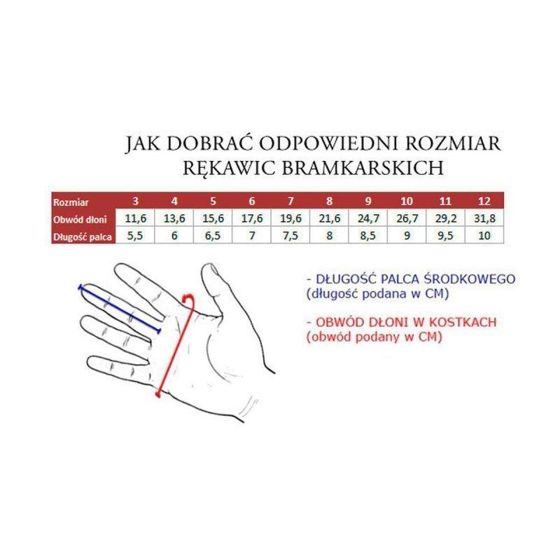 Rękawice Bramkarskie  Ah7822 R.9