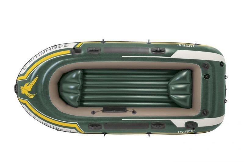 Ponton seahawk 3 os pompka + 2wiosła Intex 68380