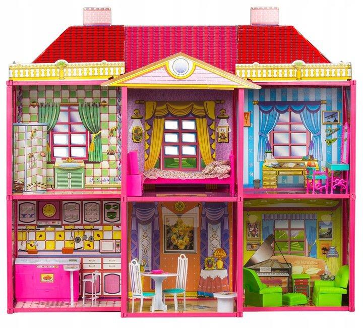 Domek dla lalek Willa + meble