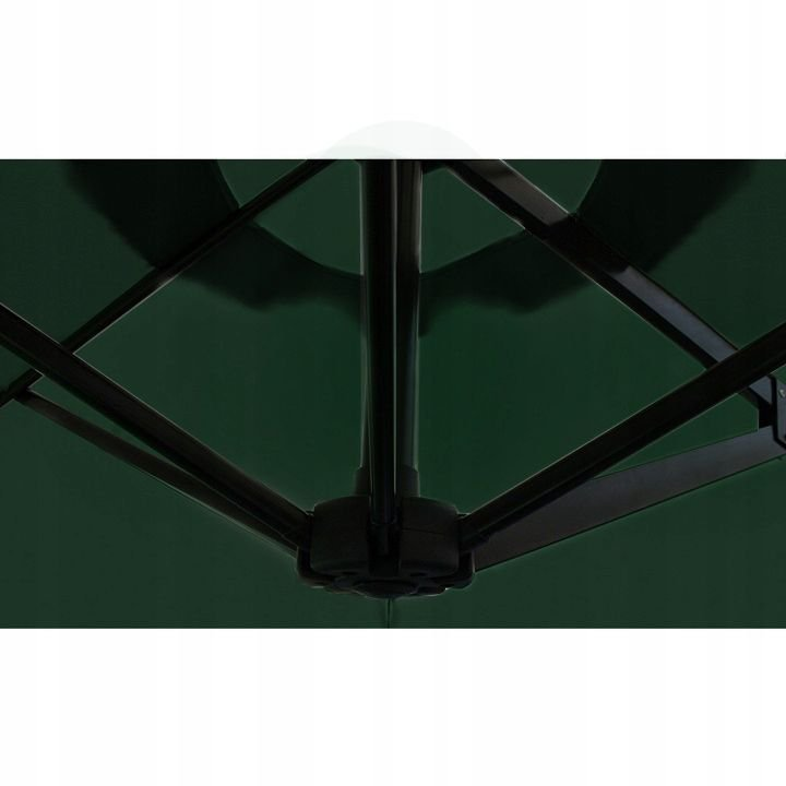 Parasol ogrodowy na taras - zielony-
