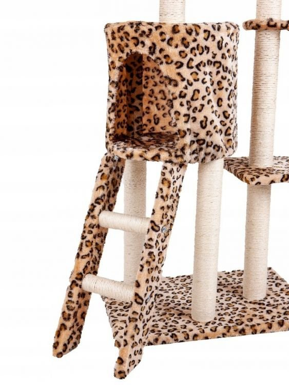 Drapak dla kota domek drzewo legowisko 138cm xl Panterka