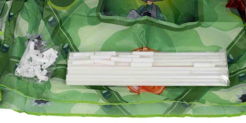 Namiot Domek zielony wojskowy