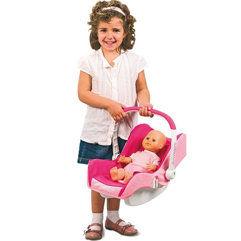 Wózek dla lalki Smoby MAXI COSI Quinny 5w1 Spacerówka Gondola Fotelik