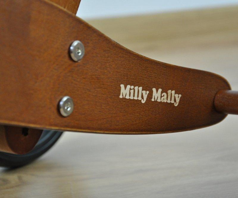 Milly Mally Pojazd Jake 2w1 Dark Natural
