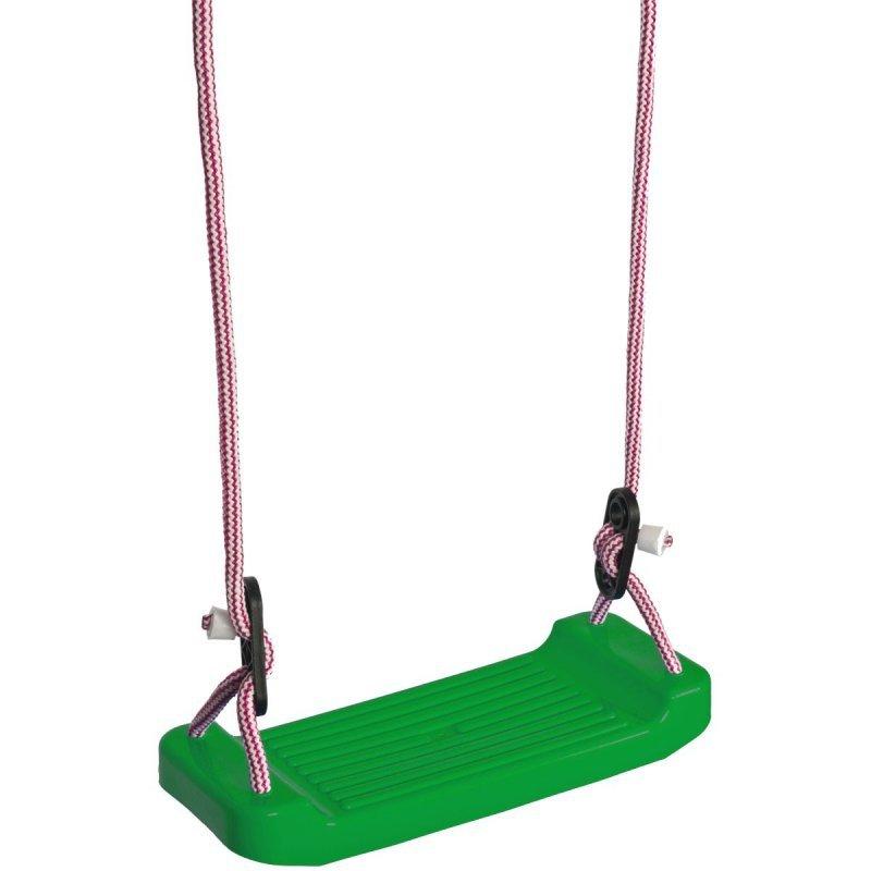 Huśtawka ogrodowa deska plastikowa zielona