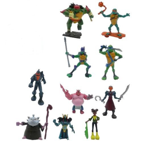 Wojownicze Żółwie Ninja Mini Figurka 8cm Stopa Foot Lieutenant