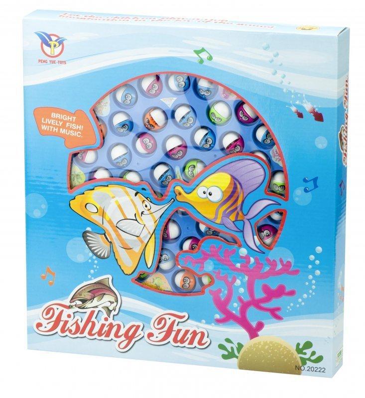 Gra rodzinna łowienie ryb 45 rybek